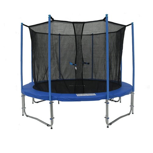Exacme 10 FT Trampoline Round with Inner Safety Enclosure Net System