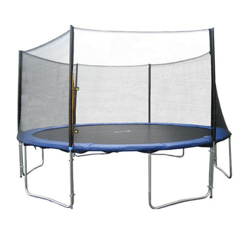 Exacme 13 FT Trampoline Round with Safety Enclosure Net and Ladder 1 | The Trampoline Shop