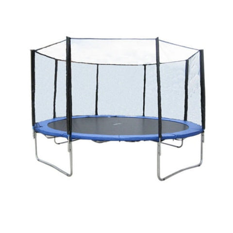 Exacme 12 FT Trampoline Round with Regular Safety Enclosure Net System 1 | The Trampoline Shop