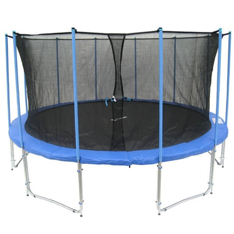Exacme Giant 16 FT Trampoline Round with Inner Enclosure Net & Ladder 1 | The Trampoline Shop