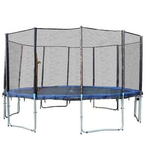 Exacme 16 FT Trampoline Giant with Safety Enclosure Net and Ladder 1 | The Trampoline Shop