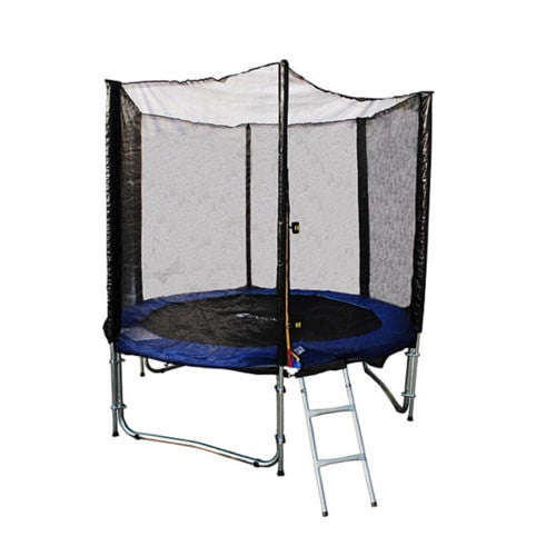 Exacme 8 FT Trampoline for Outdoor with Safety Enclosure Net & Ladder 1 | The Trampoline Shop