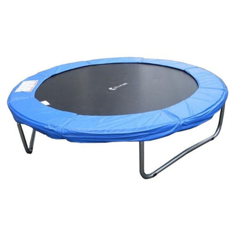 Exacme 10 FT Trampoline with Round Regular Blue Cover Pad 6180-T010 1 | The Trampoline Shop