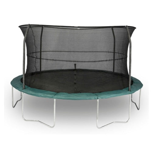 Jumpking 14 FT Trampoline Round Orbounder with Safety Enclosure Net