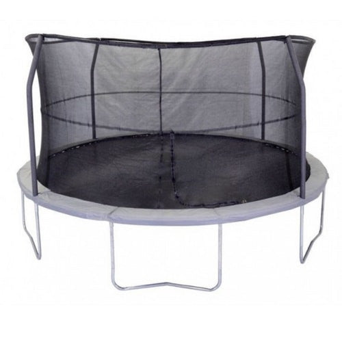 Jumpking 15 FT Trampoline Round Orbounder with Safety Enclosure Net 1 | The Trampoline Shop
