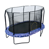 Jumpking  9 x 14 FT Giant Oval Trampoline With Safety Enclosure Net