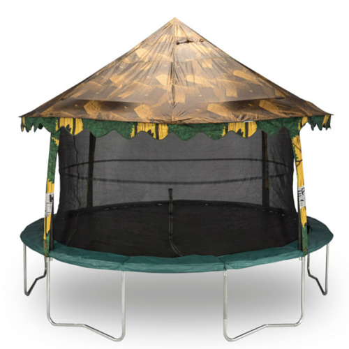 Jumpking Tree House Canopy for 14 FT Round Trampoline