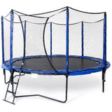 JumpSport 12 FT PowerBounce Round Trampoline with Safety Enclosure Net 1 | The Trampoline Shop