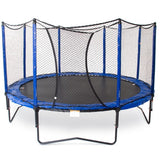 JumpSport 12 FT PowerBounce Round Trampoline with Safety Enclosure Net 2 | The Trampoline Shop