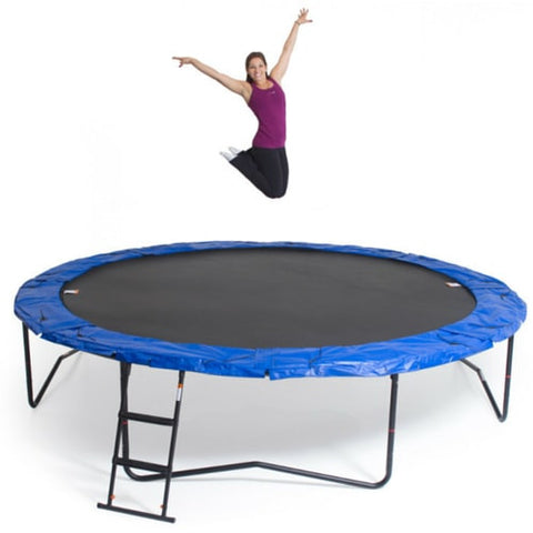 ... JumpSport Trampoline 14FT Power Bounce Round With Safety Enclosure Net  3 | The Trampoline Shop ...