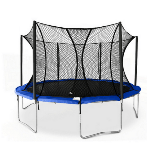 JumpSport Basic Bounce XPS Trampoline with Safety Enclosure Net 1 | The Trampoline Shop