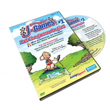 JumpSport® Game 1 Let The Games Begin Active Learning DVD w/ hardcase - The Trampoline Shop - 1