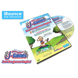 JumpSport® Game 1 Let The Games Begin Active Learning DVD w/ hardcase - The Trampoline Shop - 2