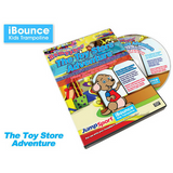 JumpSport® RompyRoo Toy Store Adventure DVD Trilingual w/hardcase - The Trampoline Shop - 2
