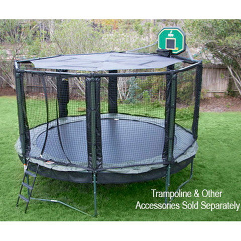 JumpSport® Trampoline Black SunShade Canopy 14 and 12 FT - The Trampoline Shop