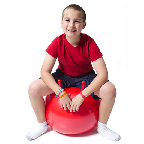 JumpSport® Red Large Hoppy Ball 45 cm - The Trampoline Shop - 1