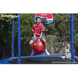 JumpSport® Red Large Hoppy Ball 45 cm - The Trampoline Shop - 2
