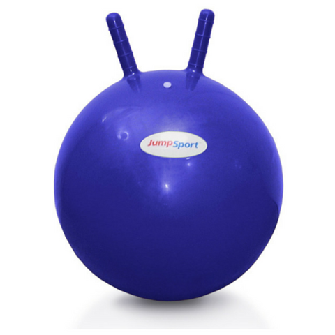 JumpSport® Blue Large Hoppy Ball 55 cm - The Trampoline Shop - 1