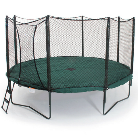 JumpSport® Green Trampoline Weather Cover for 12FT Trampoline - The Trampoline Shop