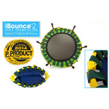 JumpSport iBounce Round Foldable Kids Trampoline for Toddlers with DVD 5 | The Trampoline Shop
