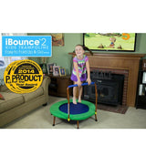 JumpSport iBounce Round Foldable Kids Trampoline for Toddlers with DVD 6 | The Trampoline Shop