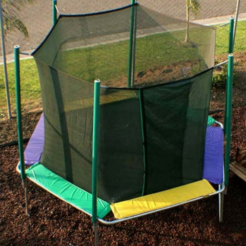 Magic Circle 12 FT Hexagon Trampoline with Safety Enclosure Net 1 | The Trampoline Shop
