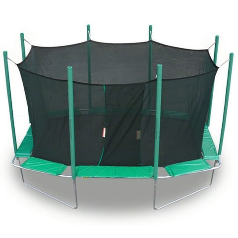 Magic Circle 9 X 14 FT Rectangle Octagon Trampoline w/ Safety Net 1 | The Trampoline Shop