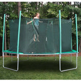 Kidwise Magic Circle 16 FT Octagon Trampoline with Safety Net 2 | The Trampoline Shop