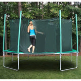 Kidwise Magic Circle 16 FT Octagon Trampoline with Safety Net 3 | The Trampoline Shop