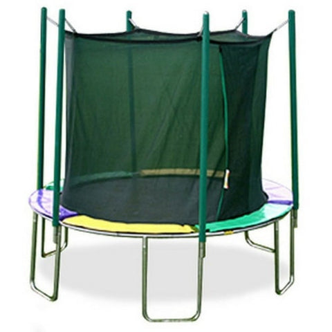 Magic Circle 10 or 12 FT Round Trampoline with Safety Enclosure Net 1 | The Trampoline Shop