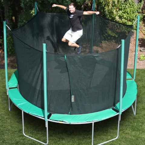 Kidwise Magic Circle 13'6 FT Round Trampoline with Safety Net 1 | The Trampoline Shop