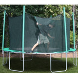 Kidwise Magic Circle 13'6 FT Round Trampoline with Safety Net 3 | The Trampoline Shop