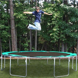 Kidwise Magic Circle 13'6 FT Round Trampoline with Safety Net 4 | The Trampoline Shop
