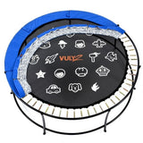 Vuly 2 Trampoline 8 FT Bouncy and Round with Safety Enclosure Net 7 | The Trampoline Shop