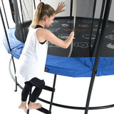 Vuly 2 Trampoline 8 FT Bouncy and Round with Safety Enclosure Net 9 | The Trampoline Shop