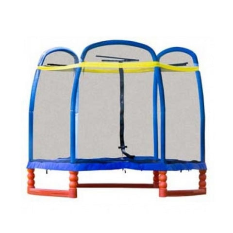 SkyBound Super 7 FT Kids Trampoline with Safety Enclosure System 1 | The Trampoline Shop
