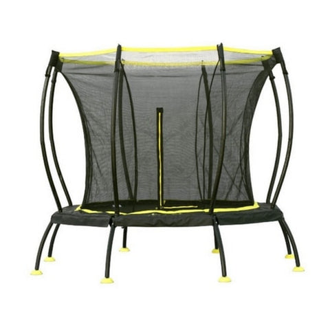 SkyBound Atmos 8 FT Trampoline Round with Safety Enclosure Net 1 | The Trampoline Shop