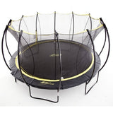 SkyBound Stratos 12FT Super Bouncy Round Trampoline with Enclosure Net 2 | The Trampoline Shop