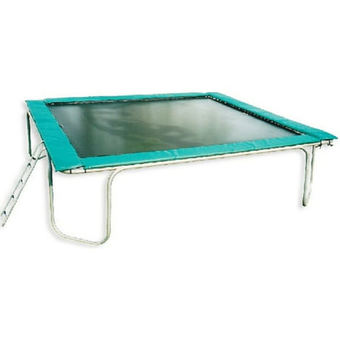 Texas Trampoline Extreme Green 15 X 17 FT Big Rectangle Trampoline 1 | The Trampoline Shop