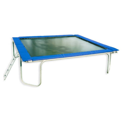 Texas Trampoline Giant Blue 15 X 15 FT Square Trampoline 1 | The Trampoline Shop
