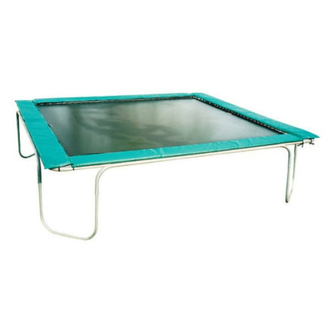 Texas Trampoline Giant Green 13 X 13 FT Square Trampoline 1 | The Trampoline Shop