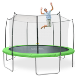 Pure Fun Dura-Bounce 15 FT Round Trampoline with Safety Enclosure Net 2 | The Trampoline Shop