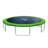 Pure Fun Dura-Bounce 14 FT Round Backyard Green Trampoline 1 | The Trampoline Shop