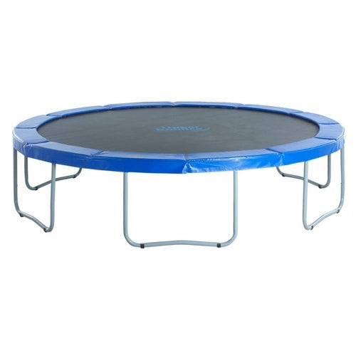 Upper Bounce Round Trampoline With Blue Safety Pad 1 | The Trampoline Shop