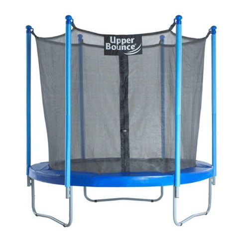 Upper Bounce Kids Round Trampoline With Full Safety Enclosure Net 7.5FT | THE TRAMPOLINE SHOP