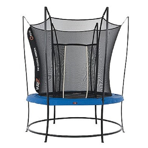 Vuly 2 Trampoline 8 FT Bouncy and Round with Safety Enclosure Net 1 | The Trampoline Shop