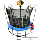 Vuly 2 Trampoline 8 FT Bouncy and Round with Safety Enclosure Net 4 | The Trampoline Shop