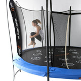 Vuly 2 Trampoline 8 FT Bouncy and Round with Safety Enclosure Net 5 | The Trampoline Shop