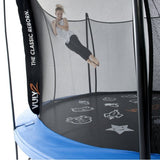 Vuly 2 Trampoline 8 FT Bouncy and Round with Safety Enclosure Net 6 | The Trampoline Shop