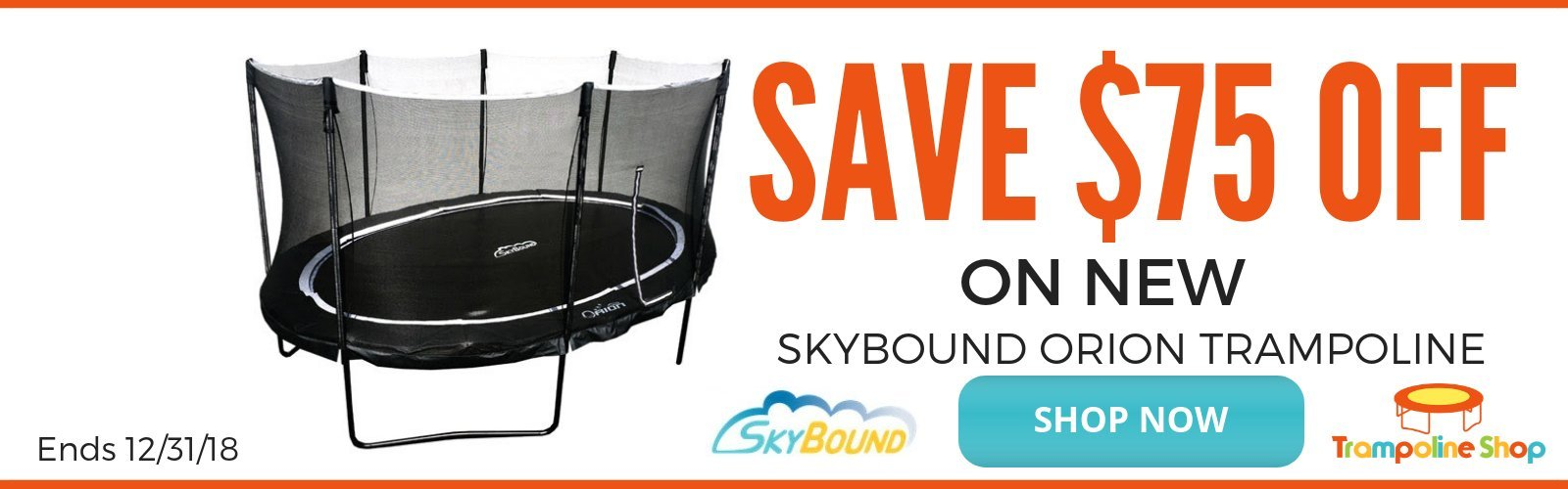 FREE LADDER VULY PROMOTION | THE TRAMPOLINE SHOP